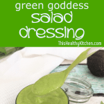 green goddess salad dressing pin