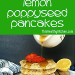 lemon poppyseed pancakes pin