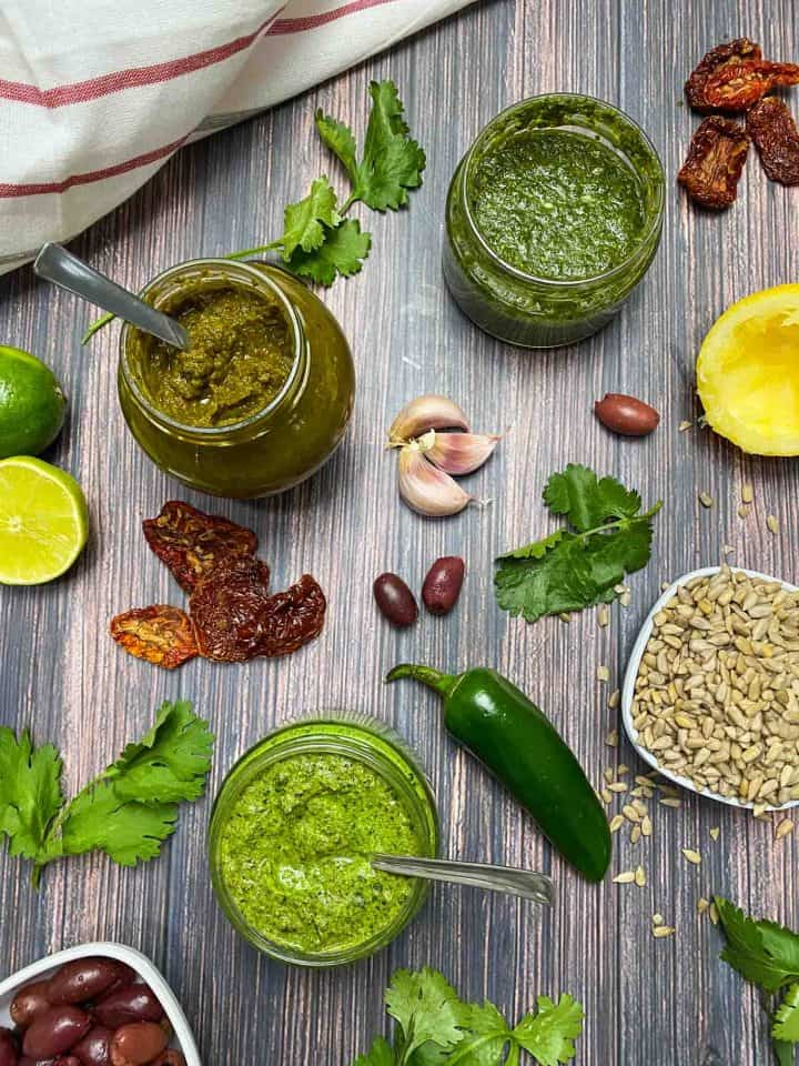 Nut Free Pesto Sauce Vegan Oil Free This Healthy Kitchen