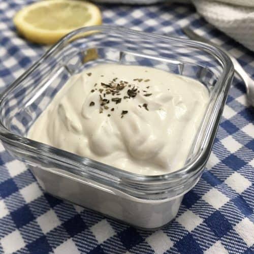 cashew cream - vegan sour cream
