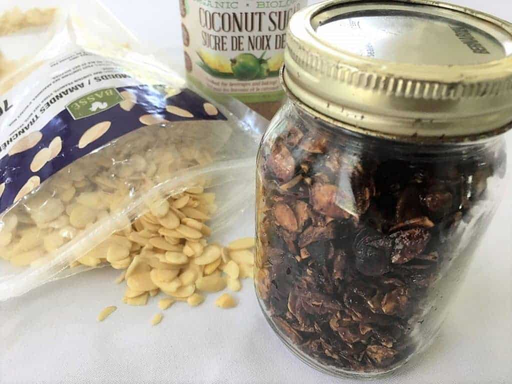 candied slivered almonds
