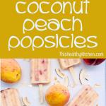 coconut peach popsicles pin