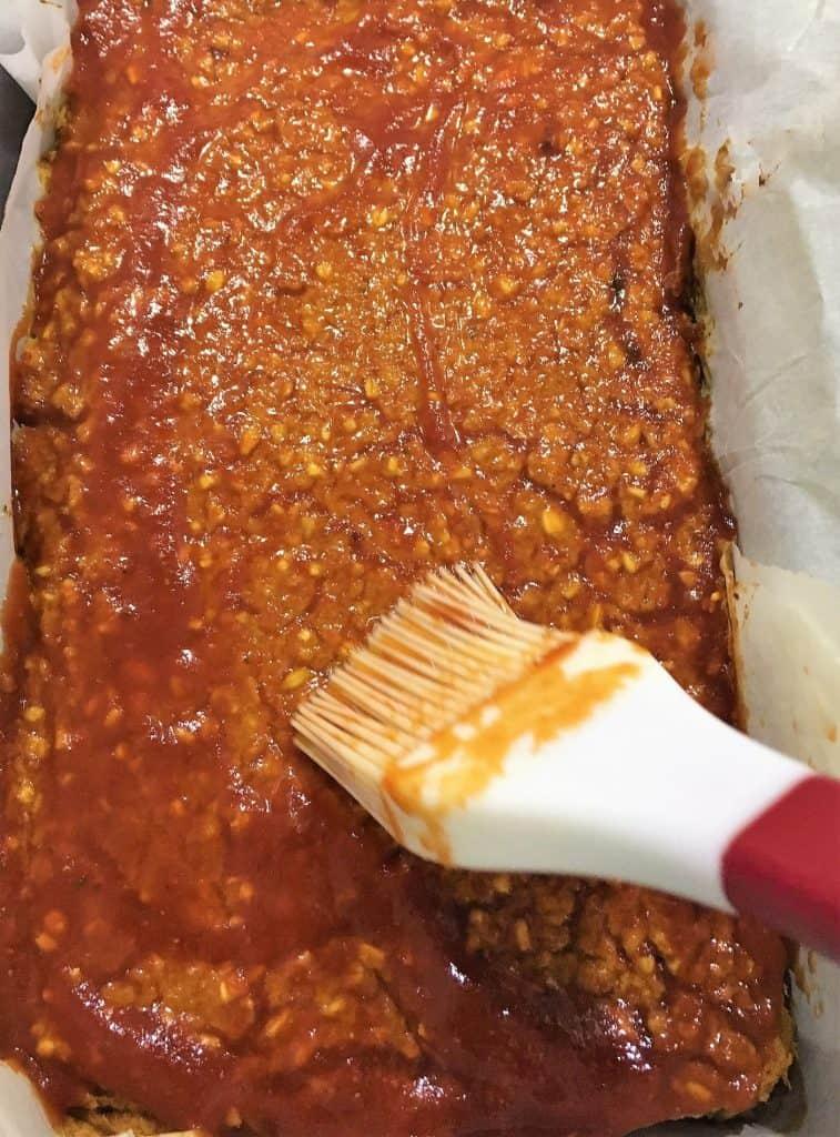 meatless meatlloaf prep