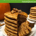 pumpkin spice pancakes pin