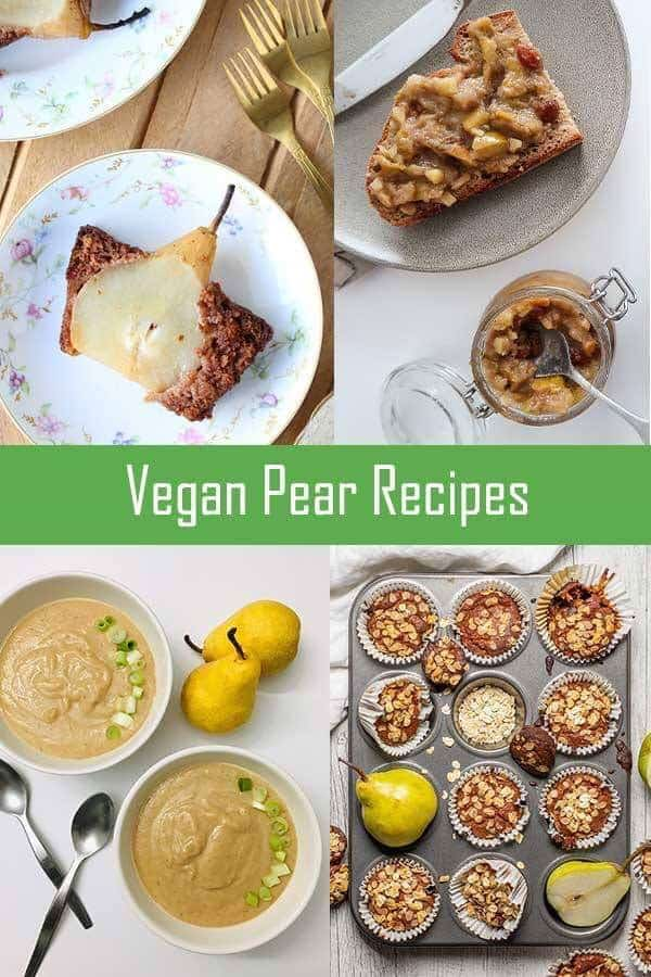 Pear Recipe Round Up