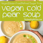 cold pear soup pin