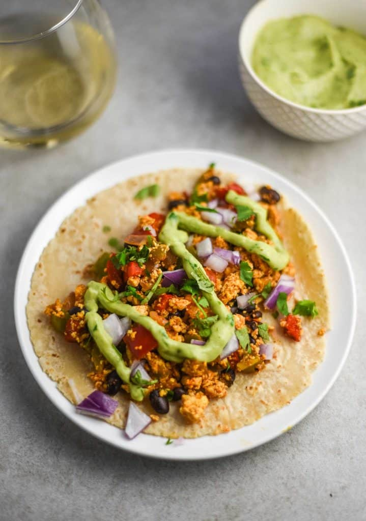 vegan breakfast tacos