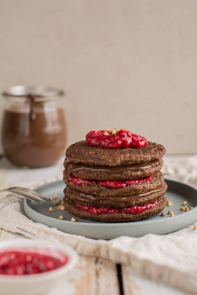 Pancakes, Chocolate Sourdough