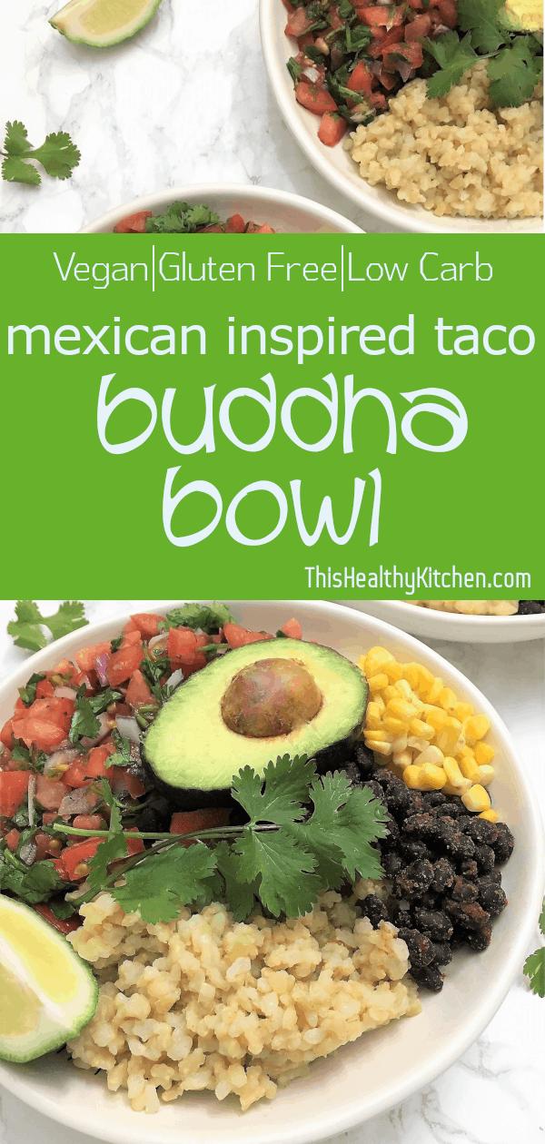Taco Buddha Bowl pin