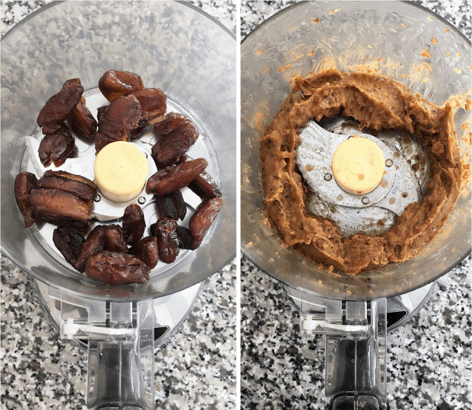 dates in food processor