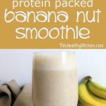 banana nut smoothie pin