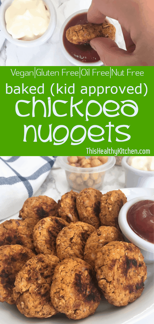 Chickpea Nuggets pin