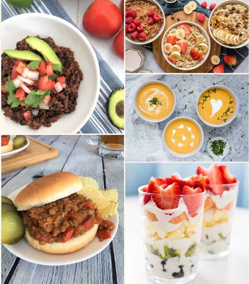 Instant Pot Recipes Collage