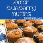 Lemon Blueberry Muffins pin