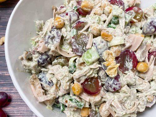 Vegan Chicken Salad Gf Oil Free This Healthy Kitchen