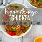 vegan orange chicken PIN