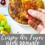 Air Fryer Hash Browns PIN