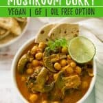 Chickpea Mushroom Curry PIN